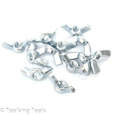 Wing Nut BSW 1/4 Inch Zinc plated
