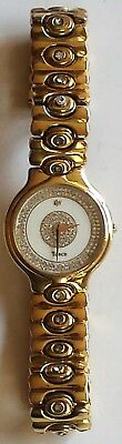 Raymond Weil Tosca 9121-2 Quartz Watch w 18kt Gold EP Case and Crystal Dial
