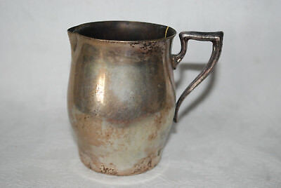 """Vintage Paul Revere STYLE Silver-Plate CREAMER Pitcher 3 1/2"""""""
