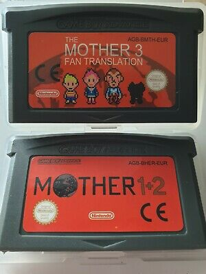 Mother 1&2 + Mother 3 Earthbound English language DS SP 100%FB RPG JRPG