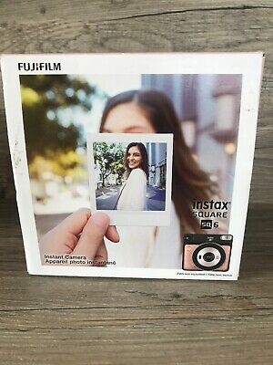 Fujifilm Instax Square SQ6 - Instant Film Camera - Blush Gold FREE SHIPPING