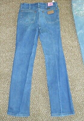 38b485e3dff Clean Used Mens Denim Dark Blue Jeans Cowboy Style Wrangler 936Den 32 X 32