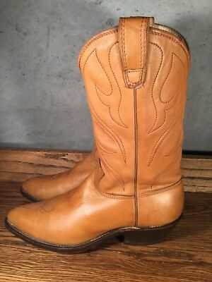 "55bcca2c561 VINTAGE COWBOY BOOTS 10D TONY LAMA BLACK LEATHER 14""TALL WESTERN ..."