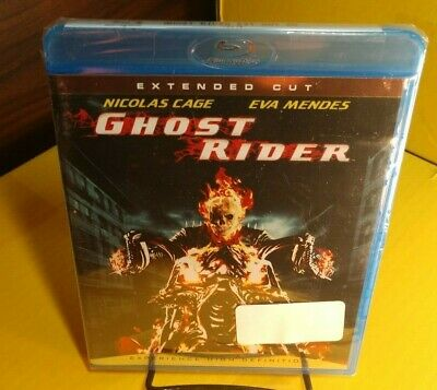Ghost Rider (Blu-ray Disc,Extended Cut) Brand NEW-Free Shipping with Tracking~
