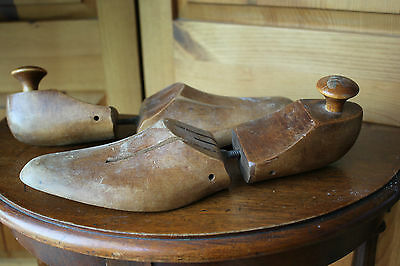 Vintage Wood Antique Wooden Shoe Tree Shoe Stretcher Shapers