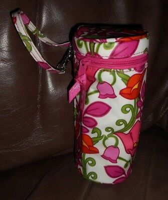 LILLI BELL -Authentic-Vera Bradley pacifier Holder POD & insulated bottle holder