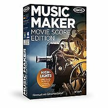 MAGIX Music Maker Movie Score Edition von MAGIX | Software | Zustand gut