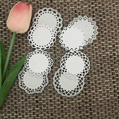 Round lace Design Metal Cutting Die For DIY Scrapbooking Album Paper Card'