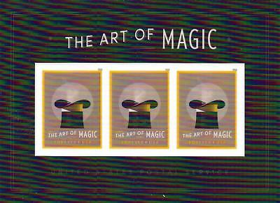 The Art of Magic Souvenir sheet of 3--Order will Include Single on Envelope!!!