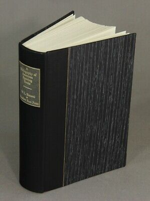 M L Biscotti / bibliography of American sporting books 1926-1985 Foreword 1997