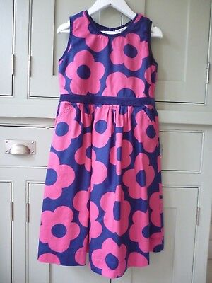 Mini Boden Girls cotton velvet dress age 9-10 excellent condition