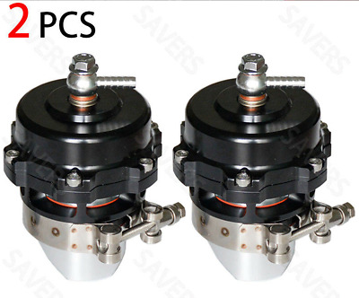 New Set Of 2 For Tial 50Mm Blow Off Valve  Aluminum Turbocharger 35 Psi Boost