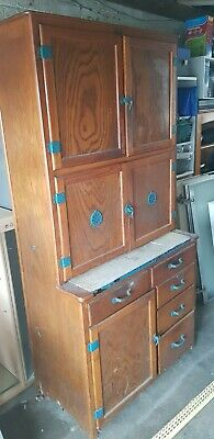 1950's retro vintage MAID SAVER KITCHEN CABINET.  MADE BY LUSTY UK.