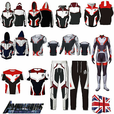 14cde6d6c10 Avengers 4 Endgame Advanced Tech Hoodie Pants MQuantum Realm Sweatshirts  Jacket