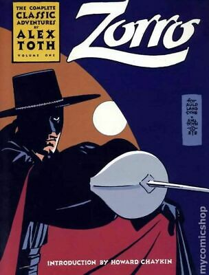Zorro The Complete Classic Adventures of Alex Toth TPB (Eclipse) #1-1ST 1988 FN