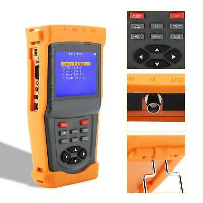 SML-INS 3.5in LCD Display Multifunctional Monitoring Network CCTV Tester RH