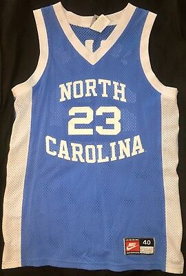 competitive price 7444c c3102 michael jordan authentic north carolina jersey