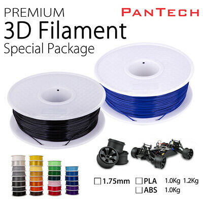 New 1.75mm PLA/ABS 3D Printer Filament - 1kg/roll 25 colours