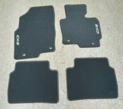 NEW GENUINE Mazda CX-5 MK1 2012-2017 Tailored Floor Mat Carpet Set KD49V0320A