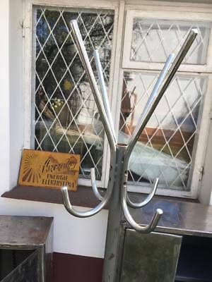 VINTAGE Metal industrial 60s COAT STAND - 4 available