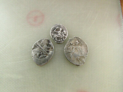 Lot of 3 coins Medieval silver coins #4