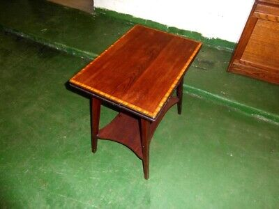 Edwardian Inlaid Turn Over Top Games Table