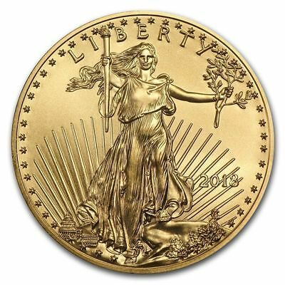 1 oz Gold American Eagle Coin Random Year BU