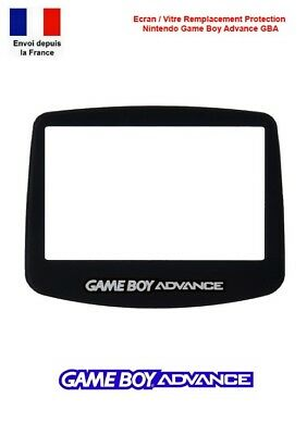 Ecran Vitre Remplacement Autoadhésif Nintendo GameBoy Game Boy Advance GBA
