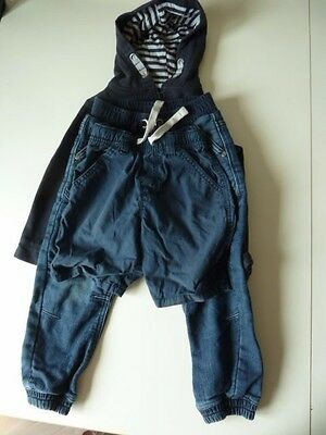 Next/George Bundle Of 3 X Age 3-4 Yr Boys Items:1 Pr Jeans/1 Shorts/1 Jacket