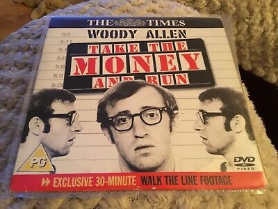 Take The Money And Run DVD Woody Allen Classic Movie 1969