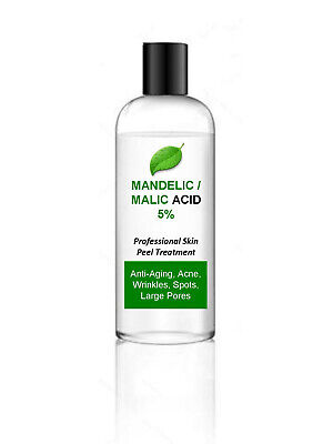 100ml Mandelic Malic Acid AHA Skin Peel 5% - Acne Treatment – 100ml