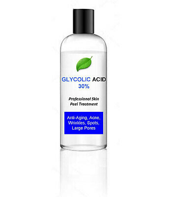 100ml Glycolic Acid AHA Skin Peel 30% - Acne Treatment – 100ml bumper pack