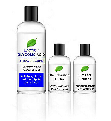 Lactic Acid/Glycolic Acid Combination Skin Peel - 100ml BUY 2 GET 3