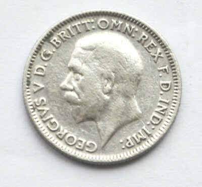 1931 King George V Silver Sixpence