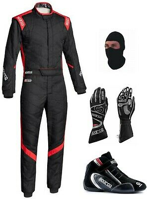 Alpinestars Go Kart Racing Suit- Cik/fia Level Ii Approved With Shoes And Gloves