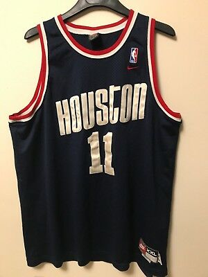 san francisco a8528 54bea MENS XXL - Vtg NBA Houston Rockets #11 YAO MING Nike 1995 ...