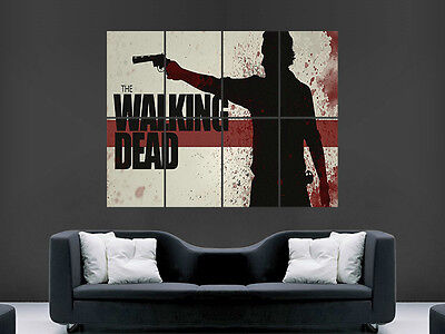 Walking Dead Zombies Tv  Giant   Art Image  Large Wall Poster Picture