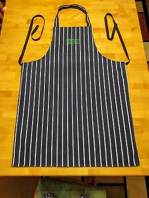 Chef  Apron - Wicklou Ireland BALLYKNOCKEN Cookery School Embroidered Bib Apron
