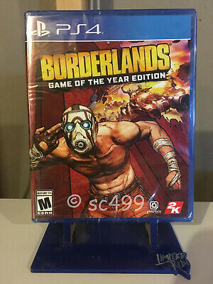 Borderlands: Game of the Year Edition *NEW & SEALED* Playstation 4 PS4