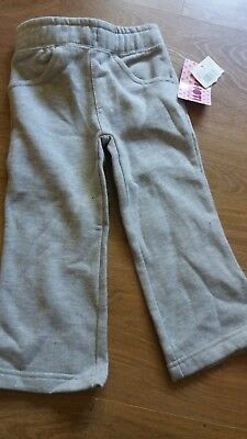 Baby girls jog bottoms are 1-2 Grey New unwanted gift