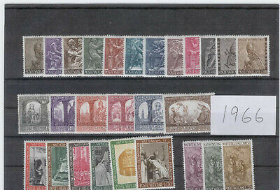 (FY66) Vatican Full yearset MNH 1966 ** FREE POSTAGE **