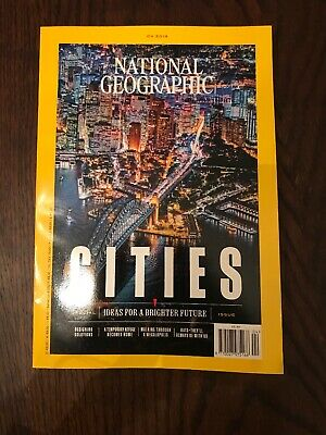 national geographic magazine April Issue - Cities Special Issue
