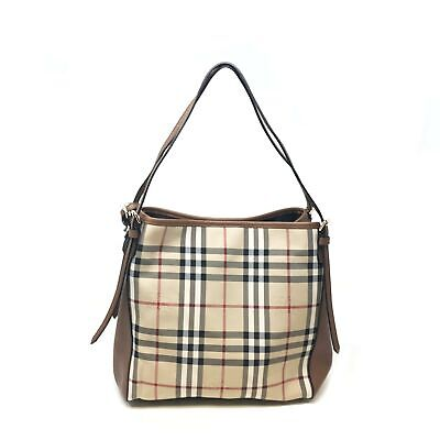 478254839e2b Burberry 39393771 The Small Canter Horseferry Check Tote Honey Tan Women s  Bag