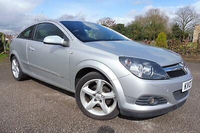 2007 07 VAUXHALL ASTRA 1.8i 16v SRi SPORT HATCH 3DR, IN SILVER