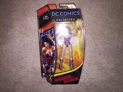 DC Comics Unlimited Universe Wonder Woman Figure, Select, Justice League