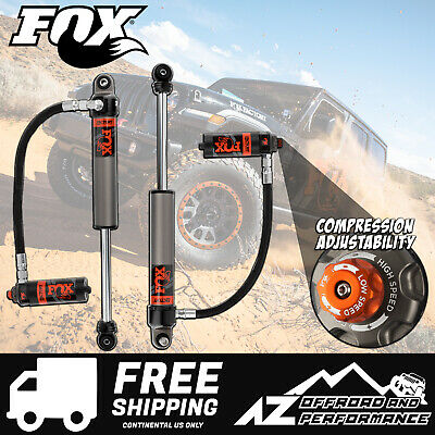 "Fox Race Series 2.5 Front Resi Shocks for 18-19 Jeep Wrangler JL 4.5 - 6"" Lift"