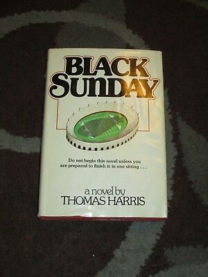 Black Sunday by Thomas Harris Hardcover First Edition 1975 *Very Nice*