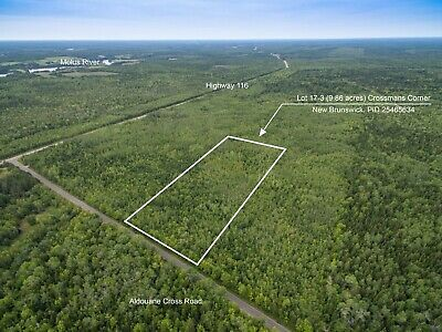 Land for Sale in New Brunswick, Canada - Recreation & WoodLand Investment