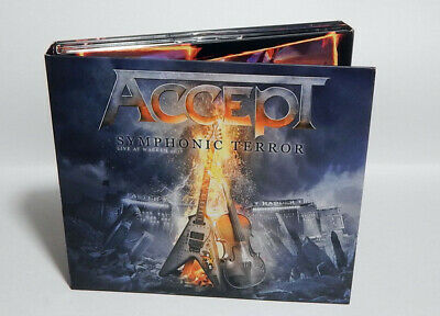 ACCEPT Symphonic Terror Live At Wacken NEW DIGIPAK 2CD+DVD 2018 (Heavy Metal)