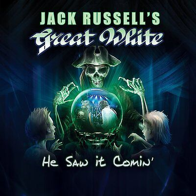 JACK RUSSELL'S GREAT WHITE He Saw It Coming CD 2017 (Melodic Hard Rock)
